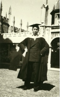 Wang Zuoliang, 1949. He received a master's in literature degree from Merton College, University of Oxford. His thesis, The Literary Reputation of John Webster to 1830, was later published by Salzburg University. Brown University Library holds a copy of the book.