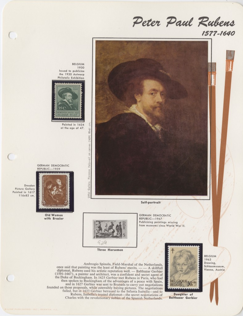 Topical stamp collecting (1)