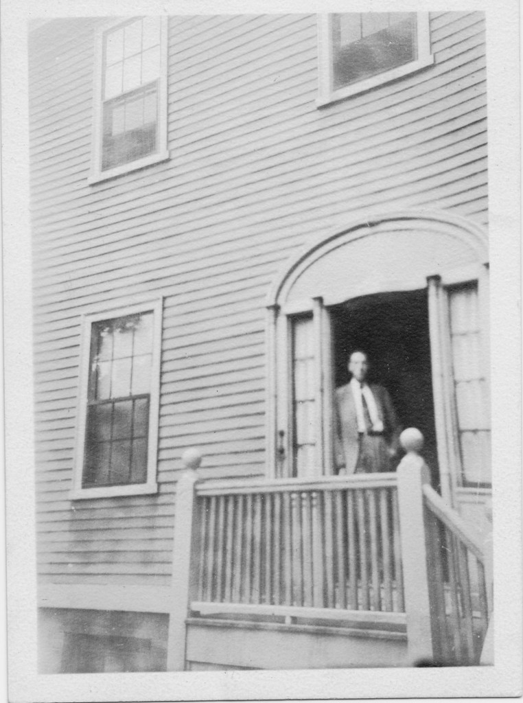H. P. Lovecraft at home in Providence / Brown University Library