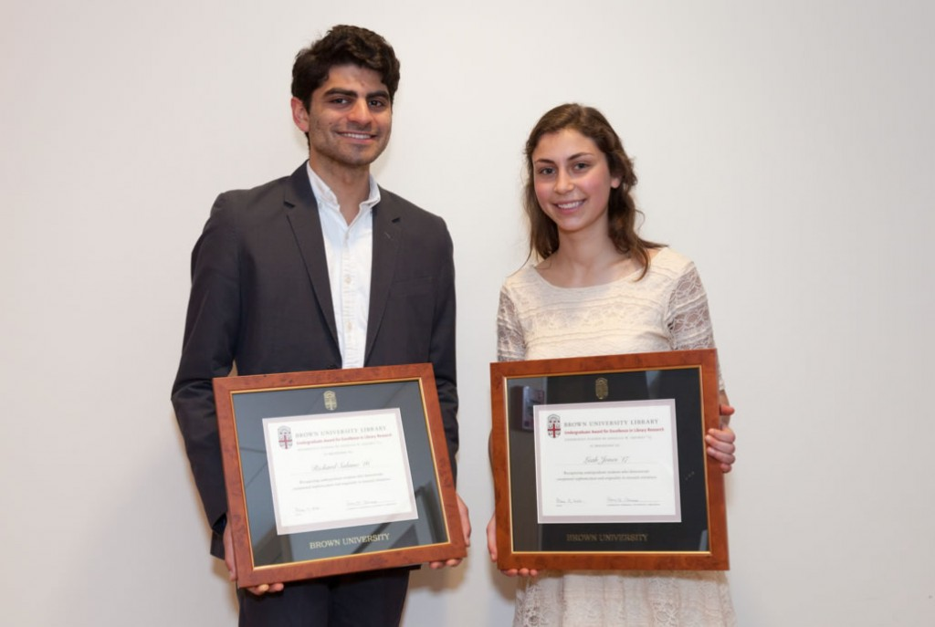 brown university economics honors thesis