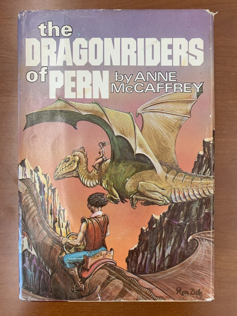 cover of The Dragonriders of Pern