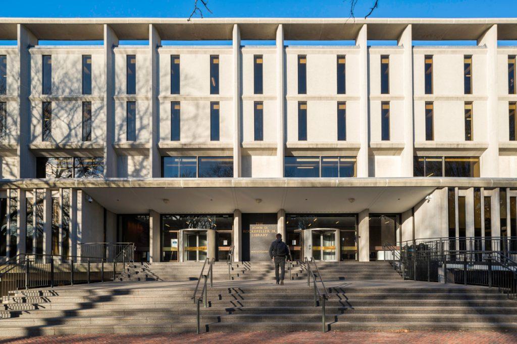 Rockefeller Library facade
