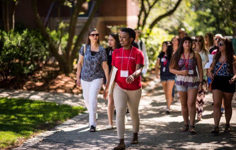 Brown University Campus Tour: Summer Version