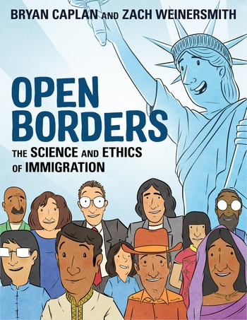 Book cover - Open Borders: The Science and Ethics of Immigration