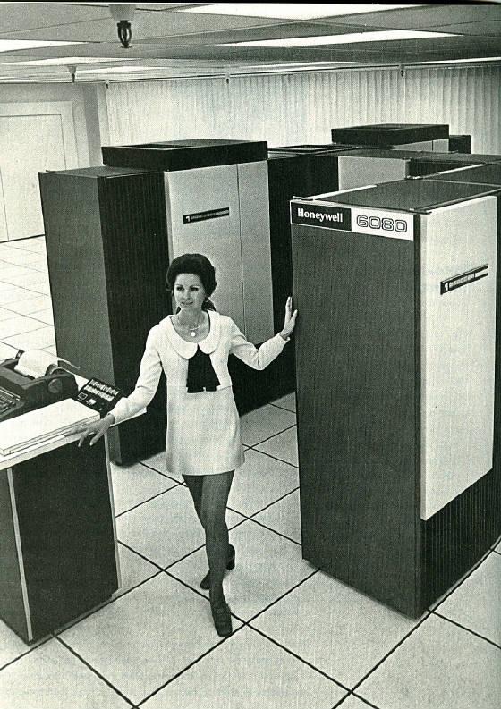 Honeywell 6080 mainframe
